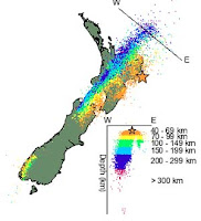 GeoNet Seismicity Map of the earthquake.
