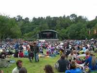 WOMAD - the Bowl stage.