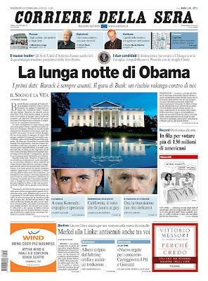 Corriere Della Sera, Milano, Italy.