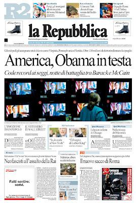 La Repubblica, Rome, Italy. <br />