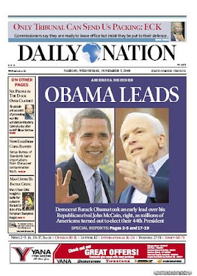 Daily Nation, Kenya.