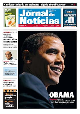 Jornal de Notícias, Porto, Portugal.