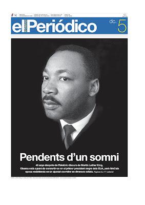El Periódico de Catalunya - Catalan Edition, Barcelona, Spain.