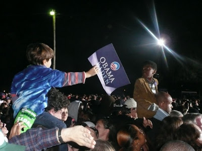 Hey dude! You wanna borrow my Obama sign?