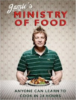 Jamie's Ministry of Food book cover.