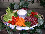 My garden Vegetable Dip