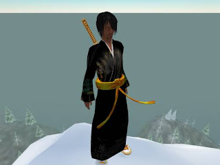 second life - samurai warrior