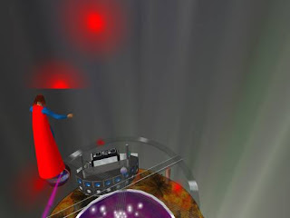 second life - discotheque inside the volcano