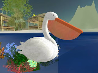 second life animals - pelican