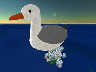 second life animals - seagull