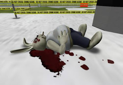 csi:ny in second life - dead rabbit