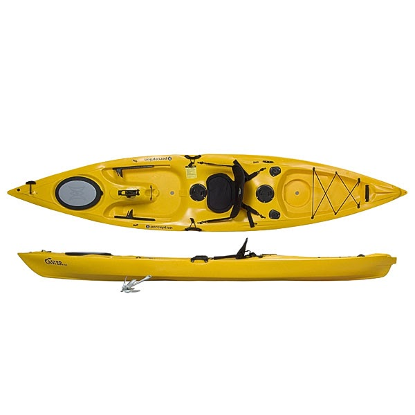 Whats cool and new at pack paddle pescador 12 kayak for Best fishing kayak under 800