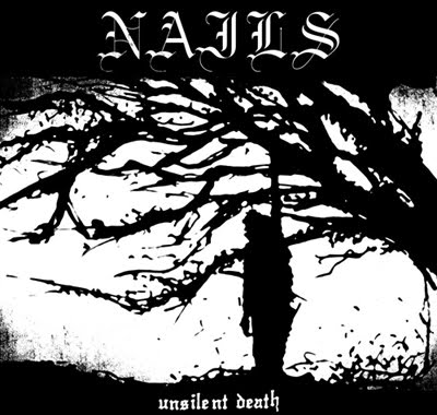 Nails-Unsilent Death LP+shirt. Get the new Nails on vinyl + shirt for a