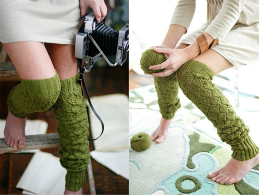 Knitting Pattern For Thigh High Leg Warmers : Sewing and Knitting Patterns Ideas: Modern Knitting