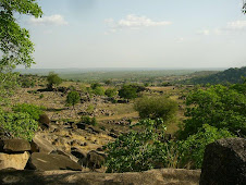 View from the Tongo hills