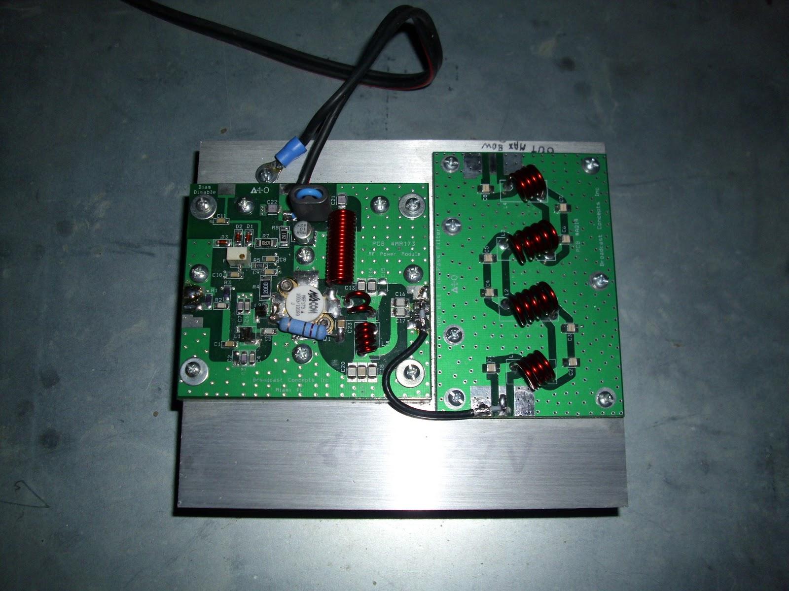 Transmisores fm para radios comunitarias o ciudadanas - Amplificador de antena ...