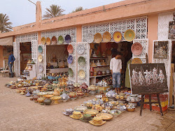 Safi pottery shops