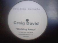 Craig David - Walking Away (Soultime Promo VLS) (2000)