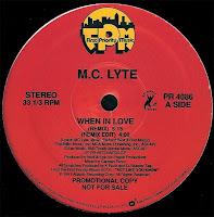 Mc Lyte - When In Love (Promo VLS) (1991)
