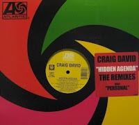 Craig David - Hidden Agenda & Personal (VLS) (2003)
