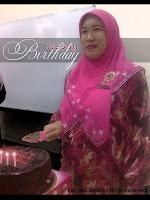 Pn. Azlina 40th Birthday