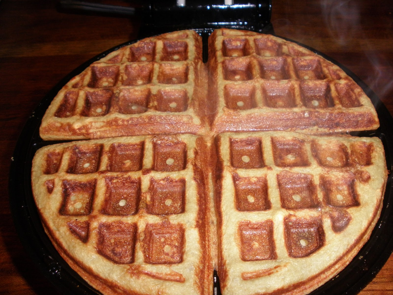 Kris's Frugal Life: Coconut Flour Waffles