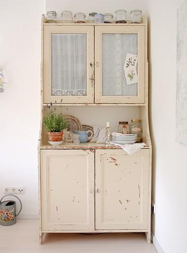 Fauna decorativa muebles restaurados para la cocina for Muebles restaurados vintage