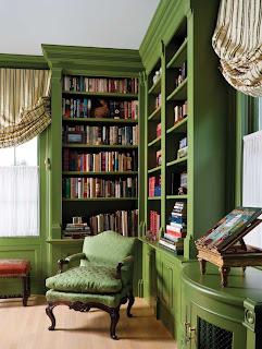 libreria esquina verde