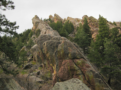 Bear Canyon, Rock Formations