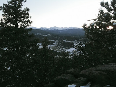 Evergreen Mountain Run, Summit With Mount Evans