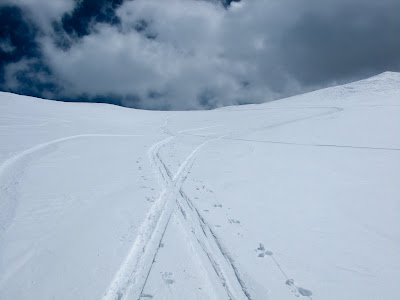 Loveland Pass Ski, Steep Skin Tracks