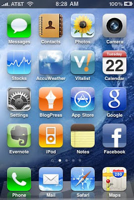 iPhone OS 4 Screen Shot