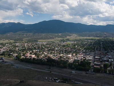 Missouri Mountain Run, Salida From Tenderfoot Hill
