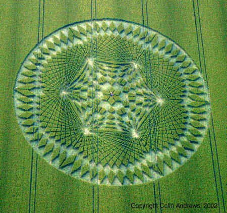 Indonesia Crop Circle. Crop Circle