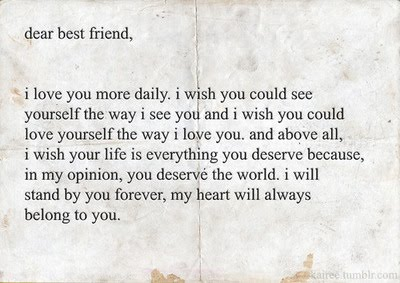 i LOVE u endlessly my FRIENDS !