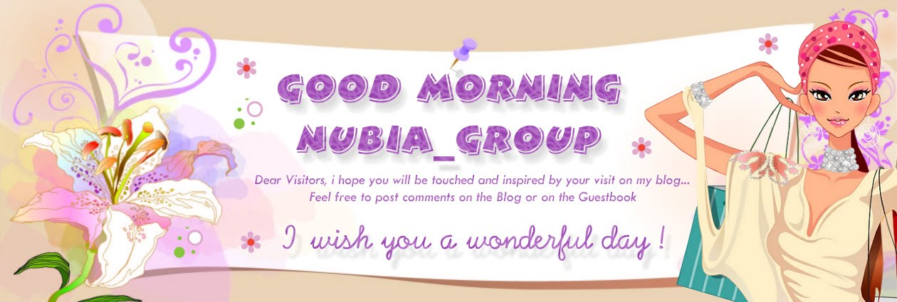 * Good morning Nubia_group -  Start your day with a smile *