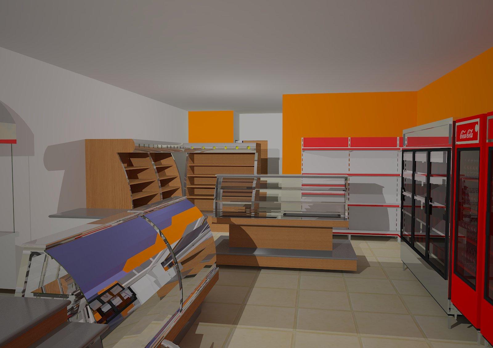 us Arquitetura: Padaria JK Governador Valadares MG. #BA6300 1600 1131