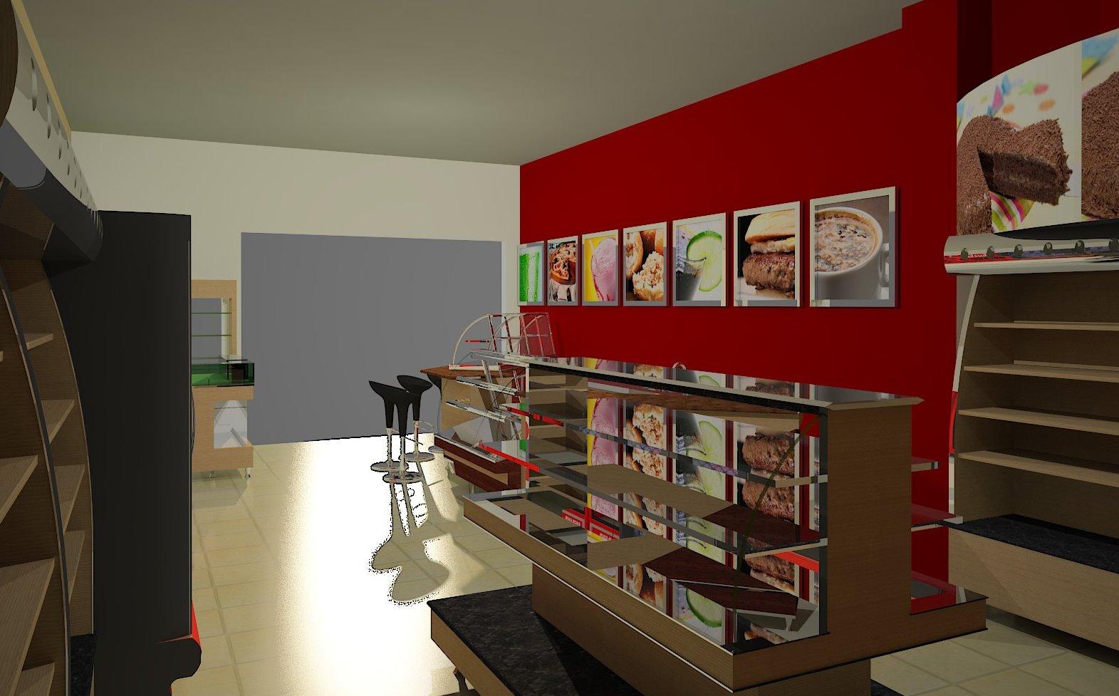 us Arquitetura: Padaria Teófilo Otoni #681C14 1571 977