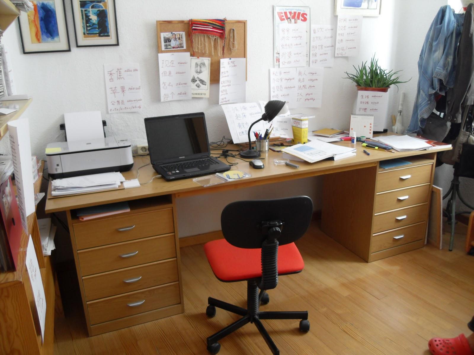 Brico carpinteria el escritorio de teresa - Tablero escritorio ...