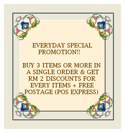 EVERYDAY SPECIAL PROMOTION!