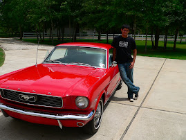 Ethan with his car