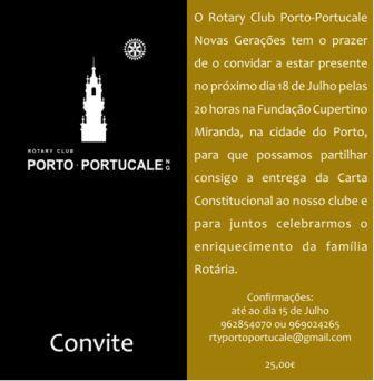 RC PORTO PORTUCALE NOVAS GERAÇÕES