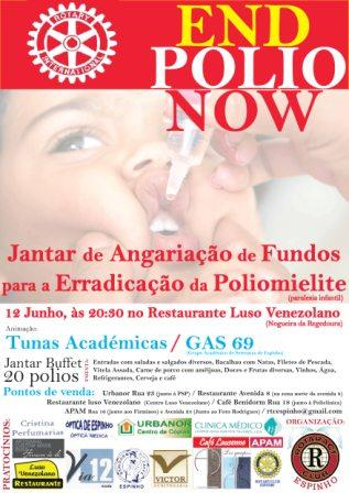 ROTARACT CLUB ESPINHO - END POLIO NOW