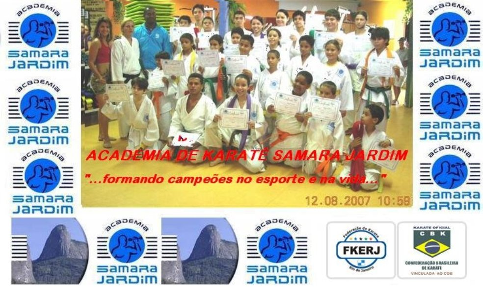 Academia de Karatê Samara Jardim