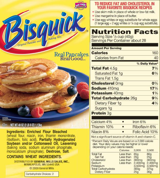 What ingredients are in bisquick get paris cathcart blog make a cake with pancake mix ccuart Gallery