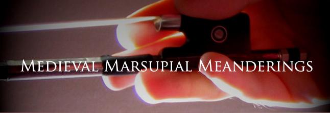 Medieval Marsupial Meanderings