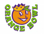 "Old-style ""Obie"" the Orange Bowl Committee mascot"