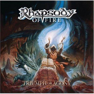 Rhapsody of Fire (Tolkien no murió, solo se dedicó al Power Metal) Rhapsody+Of+Fire+-+Triumph+Or+Agony