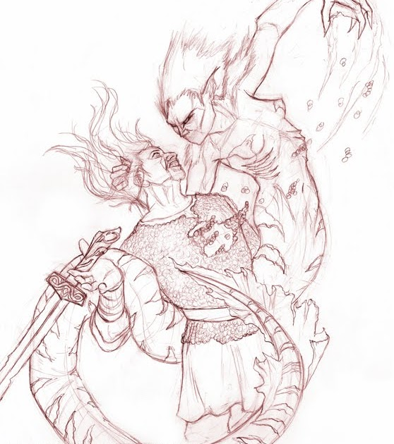 grendel s mother and beowulf Beowulf - death of grendel yamenk beowulf - not grendel it's his mother beowulf, grendel eats a warrior's head - duration.