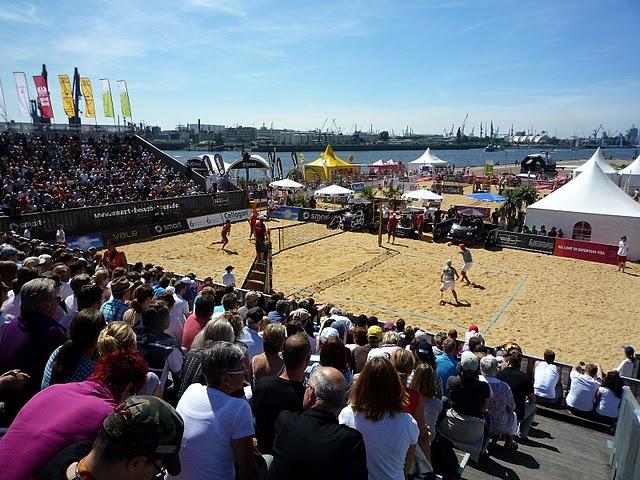 nagelneu sports beach volleyball smart beach tour hamburg. Black Bedroom Furniture Sets. Home Design Ideas